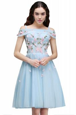ANGELINE | Quinceanera Short Cute Quince Dama Dress Flowers_1