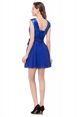 EMERSYN | Quinceanera Sleeveless Sequins Chiffon Short Dama Dresses_3