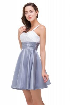 EVANGELINE | Quinceanera Sleeveless Sweetheart Short Chiffon Dama Dresses_8