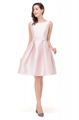 EMERSON | Quinceanera Sleeveless Knee Length Sleeveless Dama Dresses_4