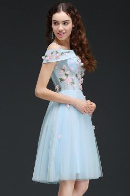 ANGELINE | Quinceanera Short Cute Quince Dama Dress Flowers_5