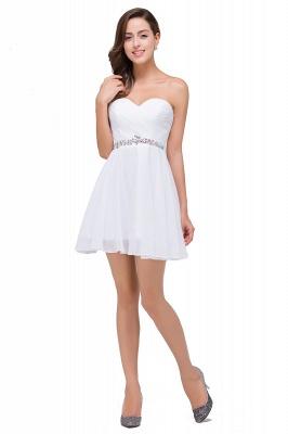 Mini A-linea rebordear vestidos de baile | cari_o corto encantador_4