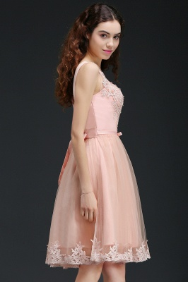 ANIYAH | Quinceanera Short Cute 15 Dama Dress With Lace_7