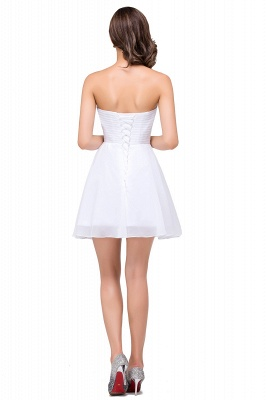 EMILEE | Quinceanera Sweetheart Short Dama Dresses with Beadings_3