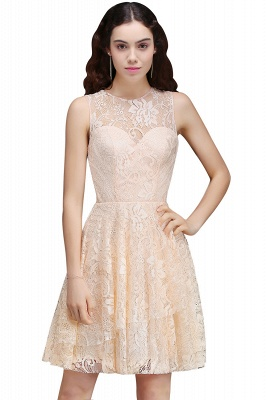 ANNABEL | Quinceanera Short Lace Quince Dama Dress_1