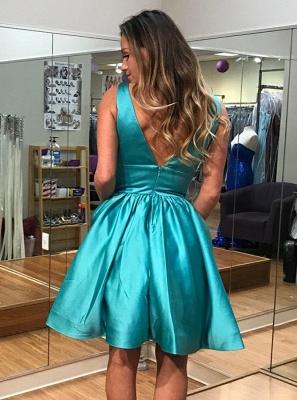 Elegant Quinceanera Zipper Dama Dresses | Sleeveless Sexy V-Neck XV Dama Dresses_3