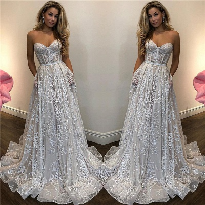 Granos brillantes lentejuelas apliques vestidos de noche atractivos | Cari_o sin mangas vestidos de baile baratos 2019_3