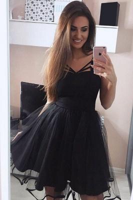 Little Black Short Dama Dresses Cheap Online 2019 Pretty Tulle Quince Dama Dress_3